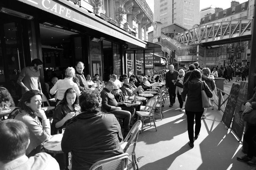 Paris Street Photography Blackandwhite Fuji X-T1