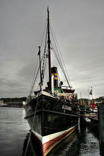 Taking Photos Hafen Hdr_Collection Port Dampfschiff Alexandra Ship Flensburg
