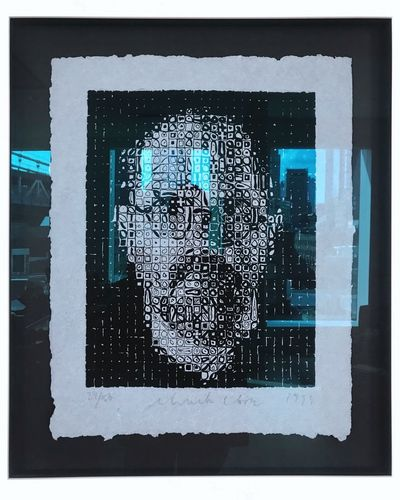 Chuck Close. EyeEm Best Shots EyeEm Gallery EyeEm Selects EyeEm Artphotography Artist Art, Drawing, Creativity Art Is Everywhere ArtWork Art ChuckClose