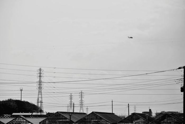 鉄塔♡Love Taking Photos Black And White Monochrome Sky Collection Nikon V1