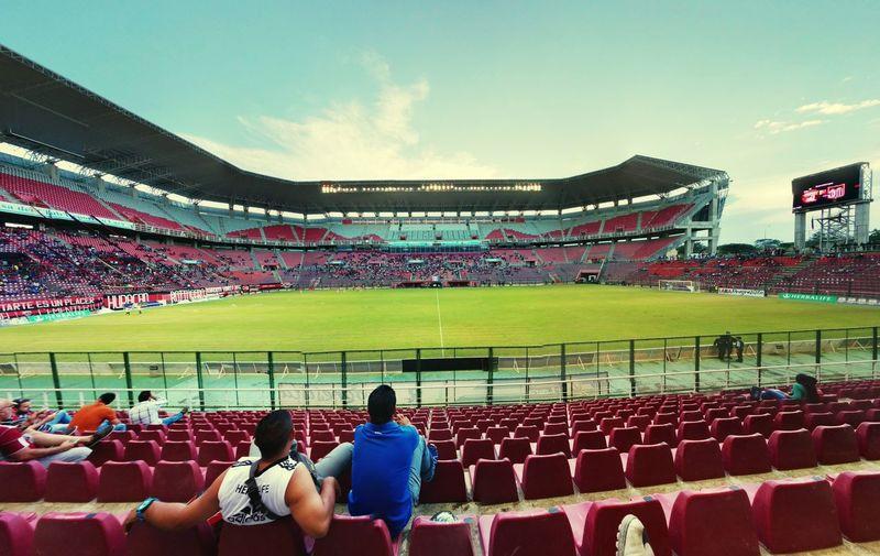 Estadio Metropolitano de Cabudare Soccer Game Fans Goal Training Team First Eyeem Photo