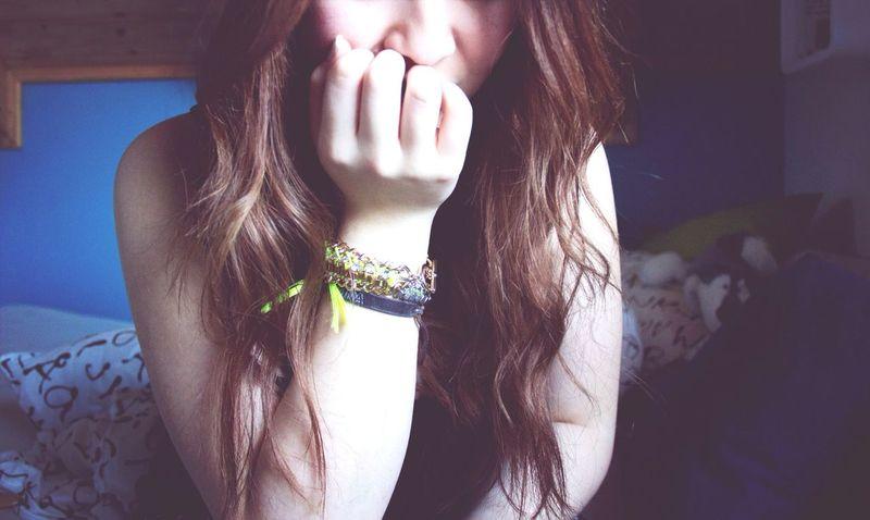 ☁️☔️ Selfportrait Girl Hipstamatic Hair