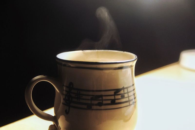 Always Be Cozy Soul Uplifting Music Notes Peaceful Evening Coffee Lovers Coincidence Body Uplifted World Of Musicians Winter Heat - Temperature
