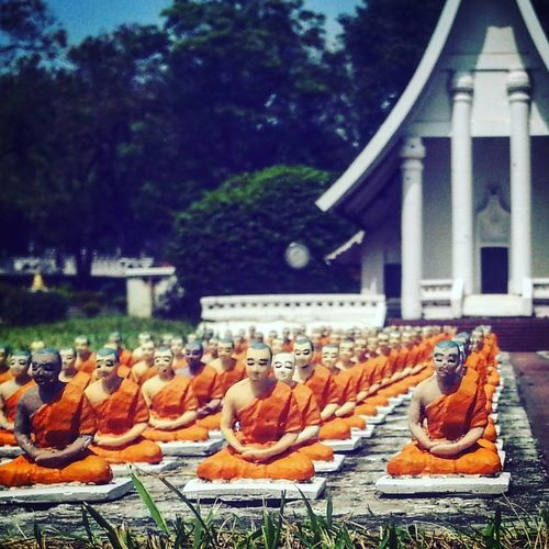 Small Buddha Peace Meditation Focus Mini Siam Outdoors Perspective