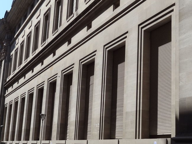 Architecture Banco Bank Building Exterior Built Structure Day Microcentro Microcentroporteño No People Outdoors