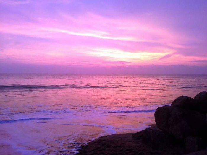 Travel Beach Sea Beauty In Nature Sunset Sea View Thailandtravel ThailandOnly Kaolak Phang Nga