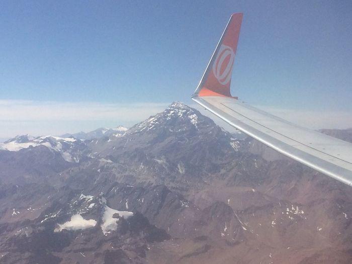 Walking Around Escaping Cordillera De Los Andes Chile