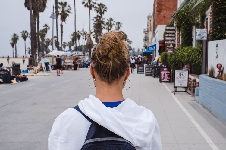 Cloudy Los Angeles, California USA Venice Beach Wanderlust Woman Outdoors People Real People Roadtrip Travel Destinations Be. Ready.