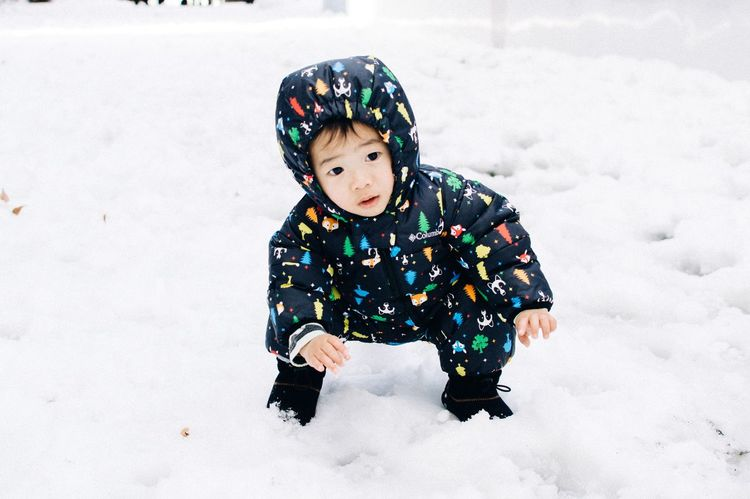Adorable ASIA Asian  Baby Baby ❤ Babyboy Beautiful Childhood Cute Cute Baby Cute Kids Family Family Portrait Family❤ Nikon Nikonphotography Photo Photography Photooftheday Snapshots Of Life Snow Snow Day Snow ❄
