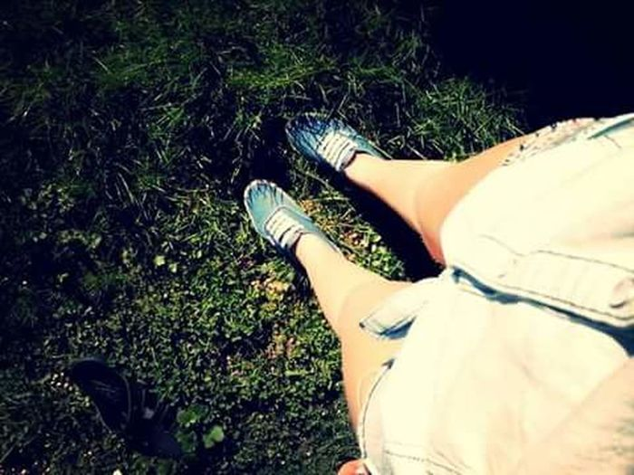 Human Leg Shoe Day Nature Vans Summer Girly
