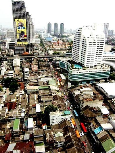 From The Rooftop Bangkok Sky Bangkok Thailand. Lebua State Tower
