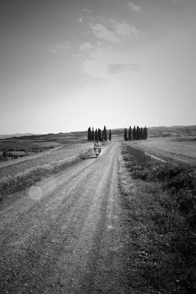 The Way Forward People Outdoors Agriculture Rural Scene Adult Landscape Sky Scenics Beauty In Nature Nature Val D'orcia Cypress Trees  Cypress Trees  Cypress Trees  Cypresshill San Quirico D'Orcia Tuscany Travel Destinations Nature Cloud - Sky Motorcycle Young People Fun