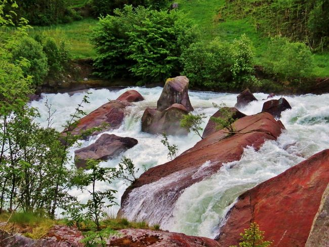 Beauty In Nature Colors Of Nature Day Hardanger Landscape Nature Nature Nature Photography Nature_collection No People Odda Outdoors River Riverside Rock - Object Scenics Tranquility Travel Destinations Tree Water Waterfall Waterscape Western Norway Westernnorway