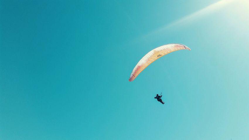 Paragliding Sky Skysport Skyspotting Skyview Holiday Activity Flying In The Sky Flying High