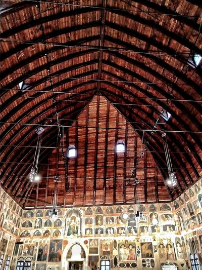 Padova, Aprile 2019 Hdr_Collection Museum Interior Full Frame Ceiling Architecture