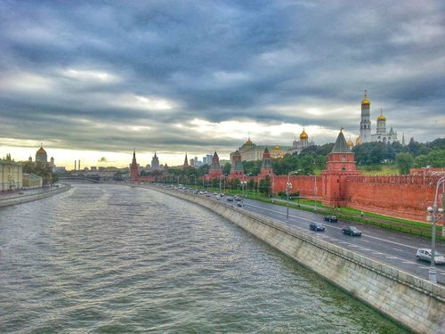 Kremlin Moscow Nature Russia