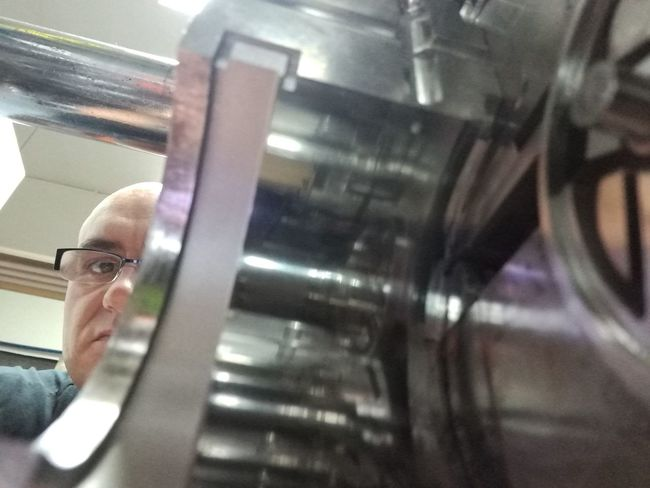 Factory Men Industry Manufacturing Equipment Working Production Line Business Finance And Industry Blurred Motion