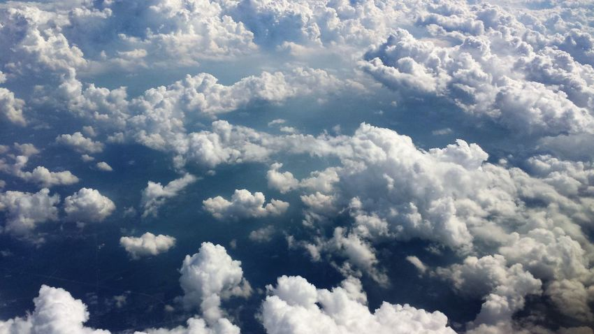 Cloud Cloudscape Cloudy EyeEm Best Shots Above The Clouds Beauty In Nature Blue Sky Cloud - Sky Day From The Plane Window Nature Sky The Week On EyeEm Investing In Quality Of Life Your Ticket To Europe Been There. Perspectives On Nature An Eye For Travel