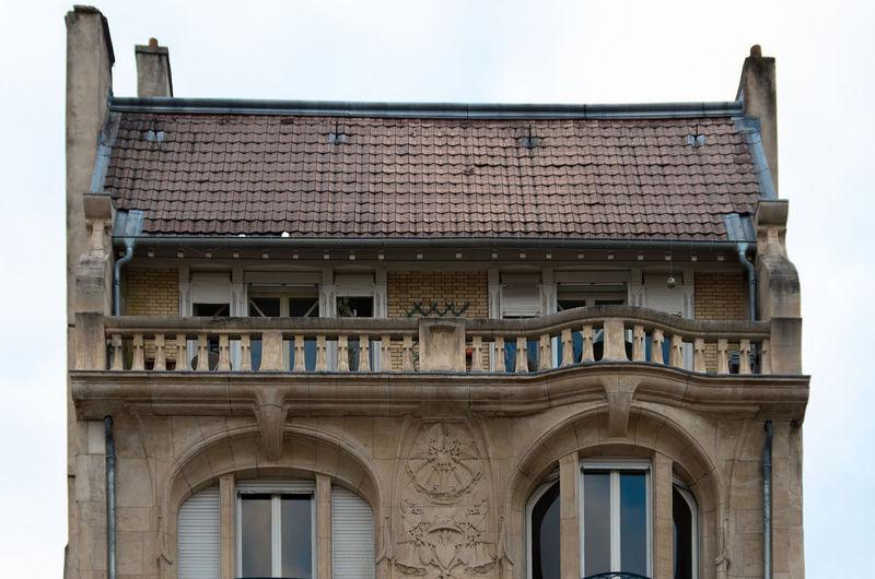 Eugène Vallin EyeEm Selects Margo Architecture Art Nouveau Building Exterior Built Structure Day Ecole De Nancy National Heritage Site No People Outdoors EyeEm Ready   Visual Creativity