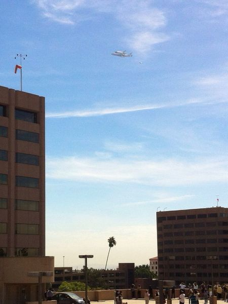 Endeavour OV-105 Space Shuttle Flying Flying Home