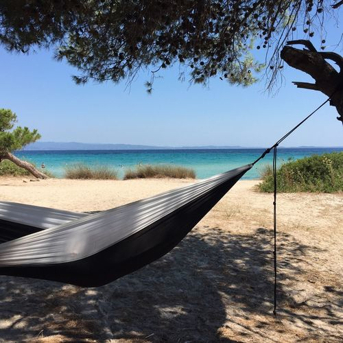 Day 7 in paradise 😎 Backpack Trip Greece Iccrew Hammock Life