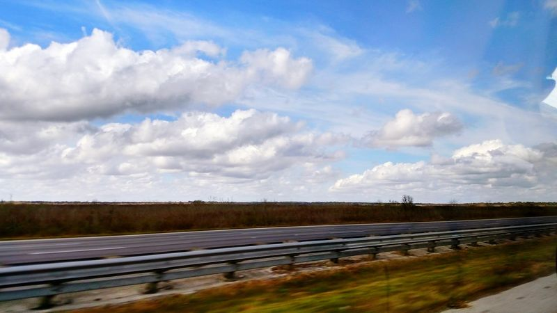 Florida Sky Showcase: December Constant Travel Highways&Freeways Freelance Life