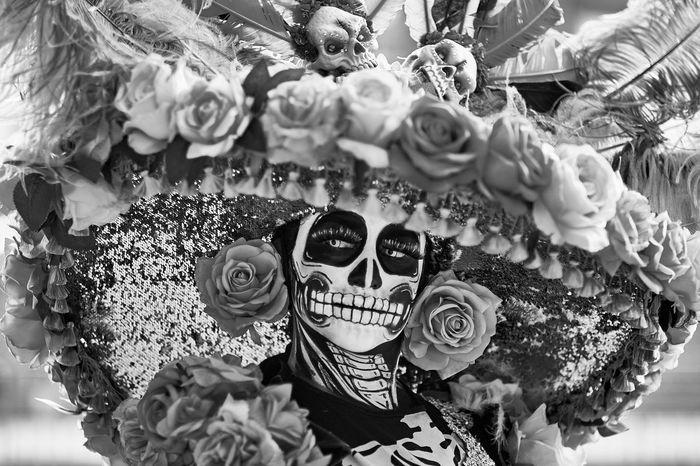 The Day of the Dead Parade Day Of The Dead Mexico Cdmx Mexico City Close-up Street Streetphotography Street Photography Streetphoto_bw Street Photo Fujifilm Fujifilm_xseries Fuji Skeleton Skull Face Paint Faces Of EyeEm EyeEm Best Shots EyeEm Selects WeekOnEyeEm Parade Event Culture Fine Art Wallpaper
