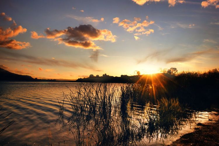 Sunset Beauty In Nature Sky Nature Tranquil Scene Outdoors Water Scenics Sunset_collection Check This Out EyeEm Best Shots - Nature EyeEm Nature Lover Landscape Landscape_Collection