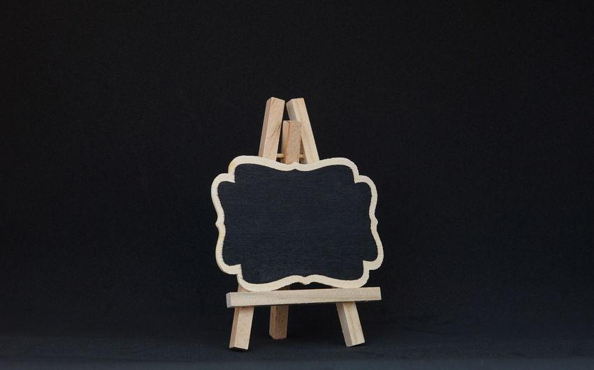 Black Board on