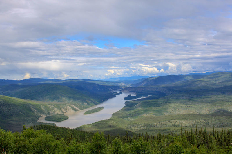 View from Midnight Dome, Dawson City, Yukon Territory Yukon Yukon Territory Yukonterritory Dawson City  Dawson Midnight Dome EyeEm Nature Lover Fantastic View Breathtaking Breathtaking View Breathtaking Sceneries Breathtaking Panorama EyeEm Best Shots EyeEmBestPics EyeEm Gallery Eyeemphotography EyeEm Best Shots - Nature Water Mountain Sky Landscape Plant Valley Mountain Range Rocky Mountains