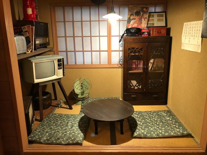 Japanese old house style Japanese Culture Japanese Style Indoors  No People Lighting Equipment Entrance Flooring Home Interior Architecture Table Domestic Room