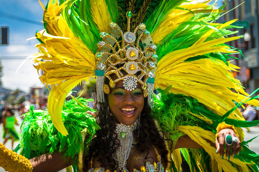 Colors Of Carnival StreetDancers Streetdancing Streetdance Parade Sanfrancisco Missiondistrict Carnaval Festival Feathers Feather  Headpiece Carnivalin san francisco, california