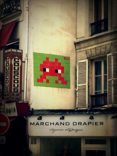 Space Invader - Streetart