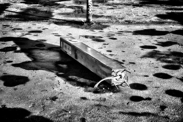 Shadow No People Outdoors Close-up Lost Places Abandoned Places Shadows & Lights Blackandwhite Black And White Photography Nikond3300 D3300nikon Abandonned Metro Metro Station Charleroi, Belgium Broken Phone Booth Black And White Friday