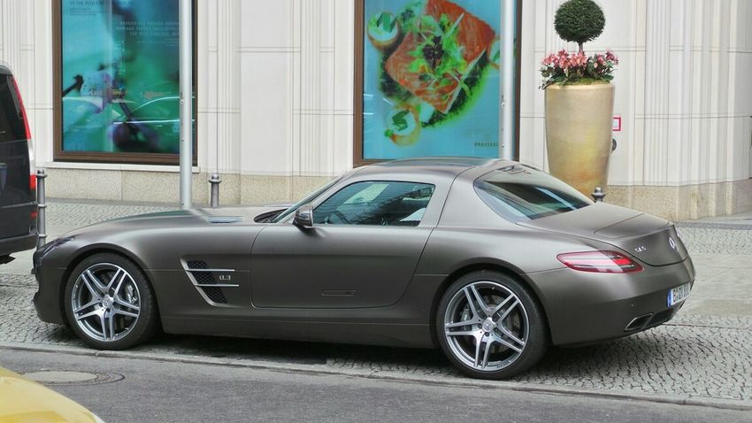 Mercedes Benz SLS *O* #berlin Mercedes Benz SLS AMG No Edit/no Filter Check This Out Streetphotography