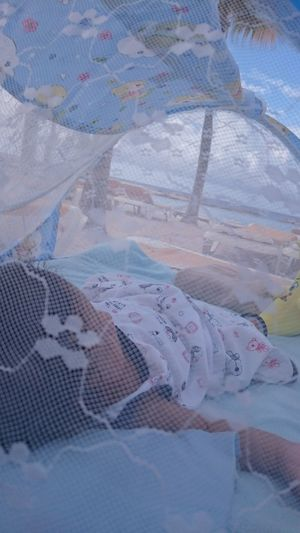 My baby boy chillaxing at the beach Bestbeachesareincuracao