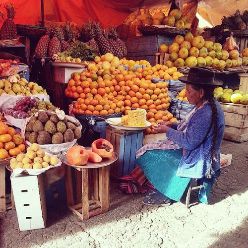 The Mercado Central in Sucre is one of the best I've seen!