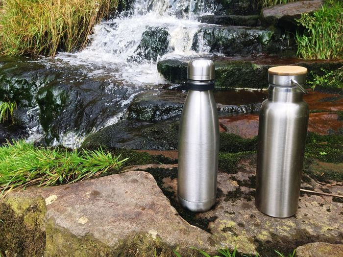 Healthy natural water Flow  Stream Reusable Pollution Alternative Plastic Unfiltered Filtered Nature Flouride Drinking Pure Healthy Stainless Steel  Bottled Water Day No People Outdoors Sunlight Nature