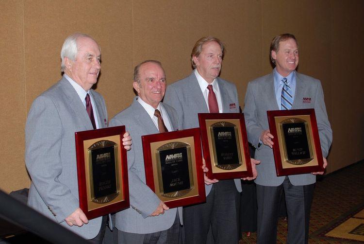 NASCAR Hall Of Fame Jack Roush Rusty Wallace Roger Penske Robert Yates Roger Penske NASCAR
