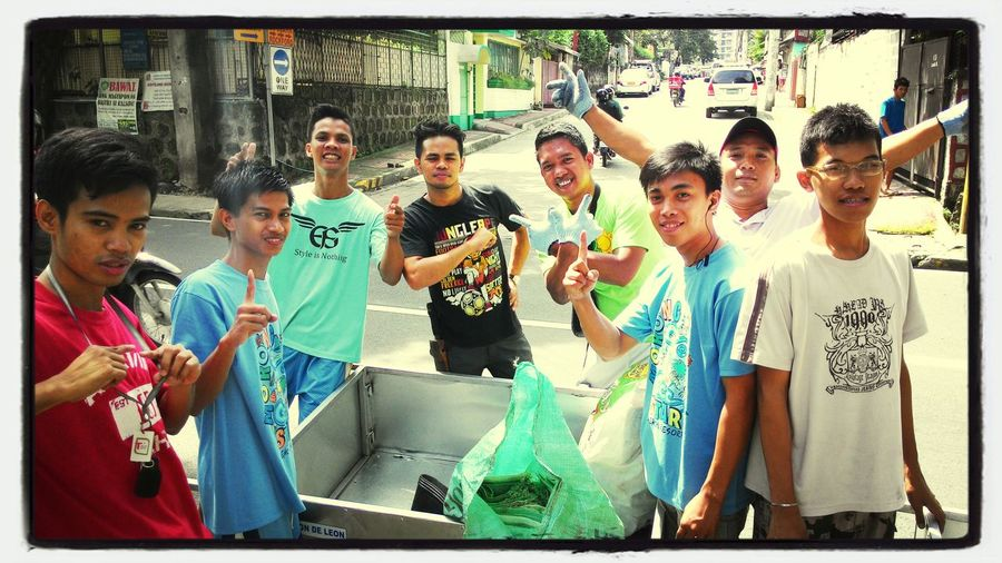 Road warriors. Taken 09-06-14 Barangaycommunityservice Havingfunwhiledoinggood Brothersinfaith