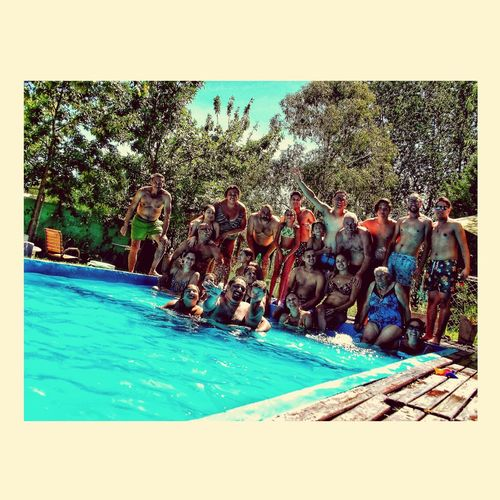 familia #party #water #FamilyTime Outdoors Blue Real People Large Group Of People Day First Eyeem Photo