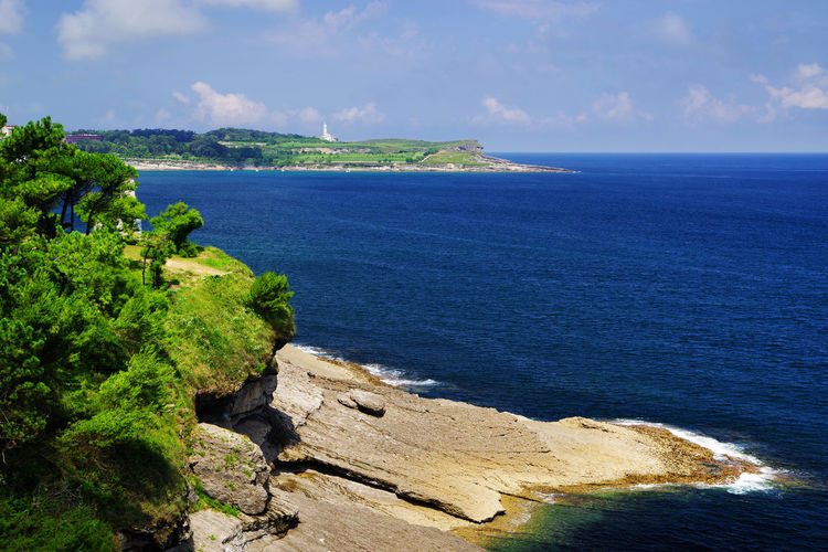 Cantabria Landscape_Collection SPAIN Santander Santander, Spain Travel Travel Photography Beauty In Nature Day Horizon Over Water Landscape Landscape_photography Nature No People Outdoors Resort Scenics - Nature Sea Seascape Sescape Sky Summer Tranquil Scene Tranquility Water