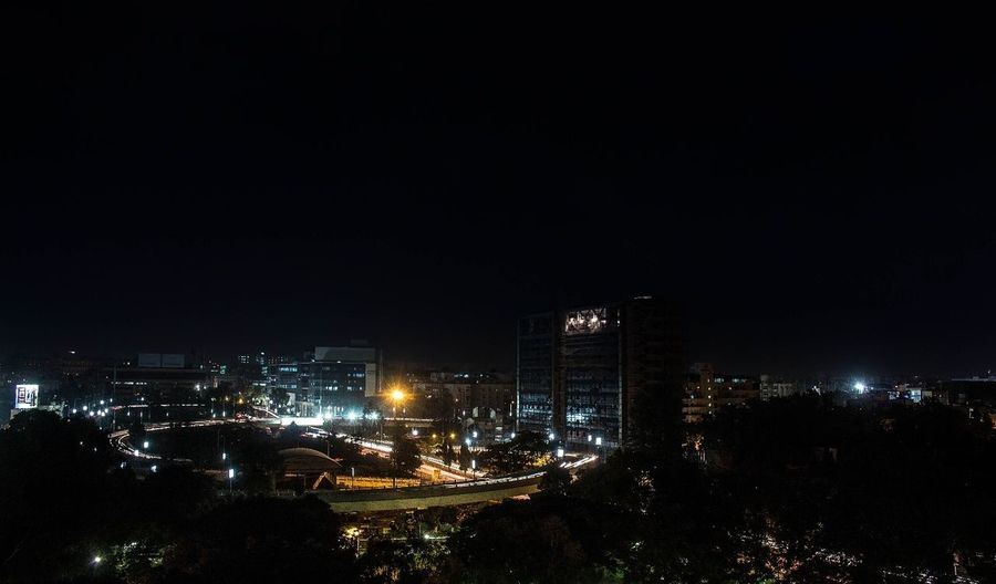 Bengaluru City At Night missed Lightning And Thunder on the day of Curfew