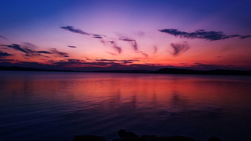 Sink into the depths of obsession Sunset Reflection Dramatic Sky Sky Cloud - Sky No People Red Outdoors Nature Water Lake Landscape Scenics Beauty In Nature Night Flamingo Bird SonyAlpha6000 Photographer Instagramer Sunset_collection Skylovers Nature Beauty In Nature Illgrammers