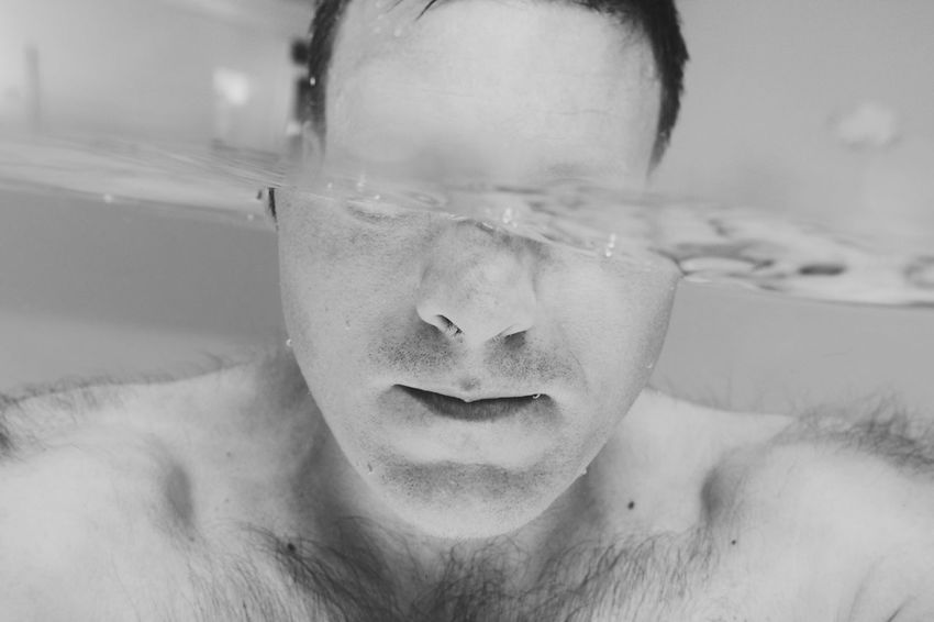 That's Me! Selfportrait Underwater Outex