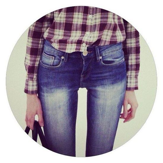 джинсы Instasize Goodnight рубашка