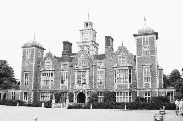 Blickling Hall Blickling Estate National Trust Ntblickling Norfolk Historical Building Historic Home Stately Home Blackandwhite Black And White