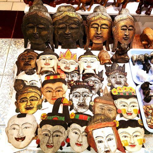 Handicap Myanmar Mandalay Various Faces Including Buddha And Myanmar Dynasty