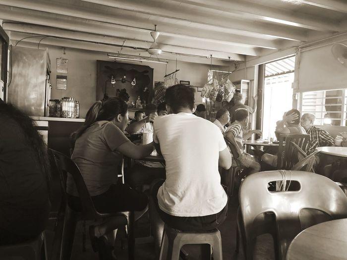 Hidden gem #fishing #village #small #town #malaysia #Asians Men Sitting Standing