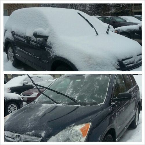BeforeAndAfter  and edgar is Free Izziesedgar . Car snow